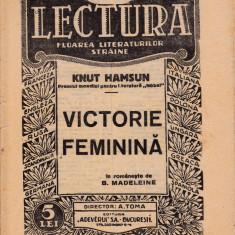 Victorie feminină