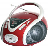 Radio Portabil CD/Mp3/Usb Rosu, Trevi