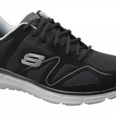 Incaltaminte sneakers Skechers Satisfaction 58350-BKGY pentru Barbati