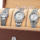 Urgent ! Set 3 ceasuri cu DIAMANTE NATURALE import SUA, Quartz