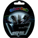 Casti Maxell In-Ear Budz Black