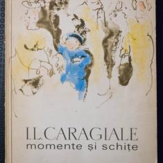 I.L. Caragiale - Momente și schițe (cu ilustrații de Constantin Baciu)