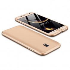 Husa 360 Grade Upzz Protection Samsung Galaxy J5 2017 Gold