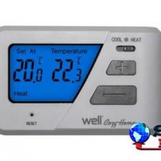 Termostat electronic cu afisaj digital Well, Pentru centrala termica