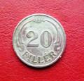 Moneda 20   filler   1940