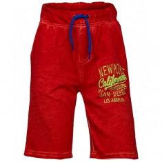 Pantaloni scurti Minoti rosu pentru baieti
