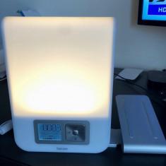 Veioza lampa Beurer WL80 Wake-Up Light Led,Alarma,Ceas,Radio USB Mp3