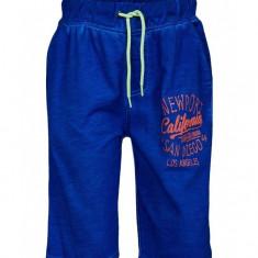 Pantaloni scurti Minoti albastru pentru baieti