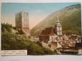 Carte postala Brasov, circulata, francatura maghiara, stare bua