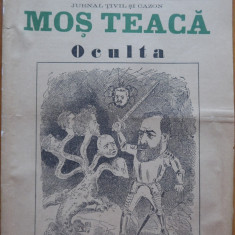 Ziarul Mos Teaca , jurnal tivil si cazon , nr. 45 , an 2 , 1896 , Bacalbasa