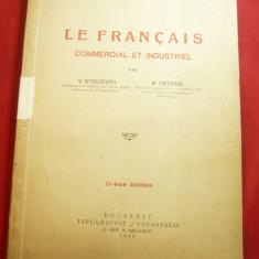 V.Stoicovici si N.Catargi - Le Francais Commercial et Industriel -Ed.J.Vacaresco