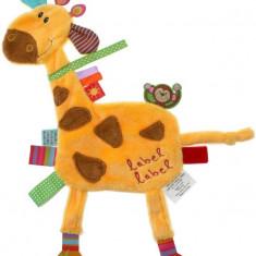 Minipaturica senzoriala Label Label Friends - Girafa, Label-Label