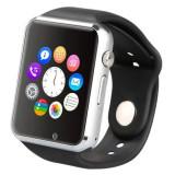 Ceas ,  cu touchscreen si bluetooth, camera foto, voice record, slot sim & car, Aluminiu