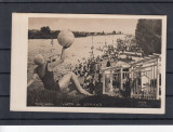 TIMISOARA  STRAND  VIATA LA STRAND  FOTO  ARTA   CIRCULATA 1933, Printata