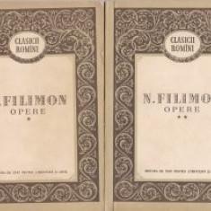 N. Filimon - Opere 9 2 vol. )