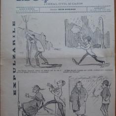 Ziarul Mos Teaca , jurnal tivil si cazon , nr. 207 , an 5 , 1899 , Bacalbasa