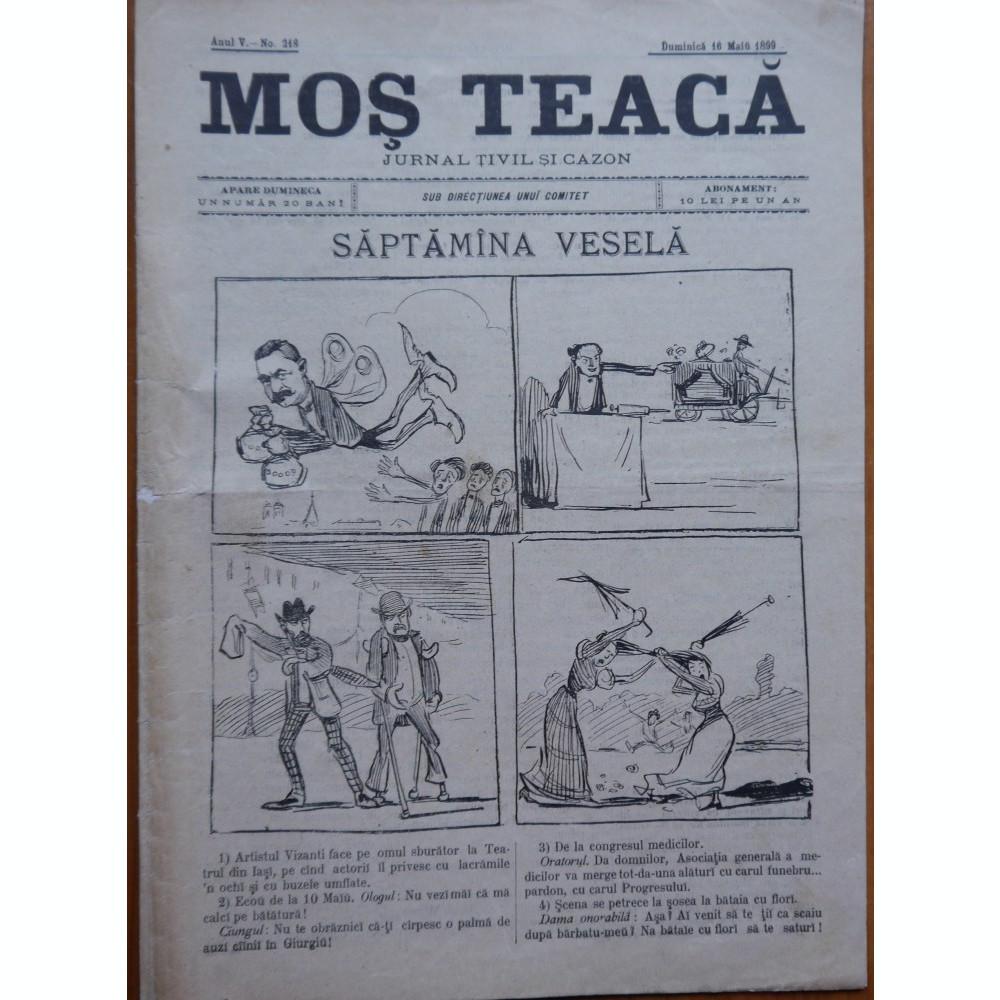 Imagini pentru revista  ''Moș Teacă'',photos