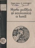 Harta politică și economică a lumii