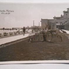 Carte postala Constanta, Mamaia, circulata 1938, francatura frumoasa