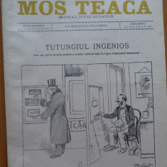 Ziarul Mos Teaca , jurnal tivil si cazon , nr. 120 , an 3 , 1897