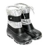 Apreschiuri PJ Shoes - Cizme ultra călduroase impermeabile, 35.5, Argintiu