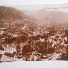 Carte postala Brasov, circulata, 1929, stare buna, Fotografie