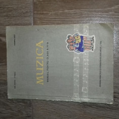 MANUAL VECHI PERIOADA COMUNISTA DE MUZICA 1965 PENTRU CLASA A IV A 1965