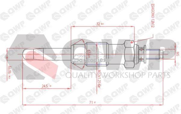Bujie incandescenta FIAT BRAVA (182) (1995 - 2003) QWP WGP109