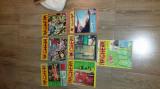 LOT 7 REVISTE RACHETA CUTEZATORILOR DIN ANII 1969, 1970, 1972, 1973