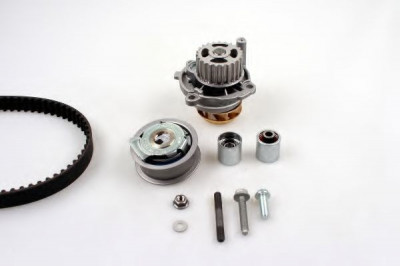 Set pompa apa + curea dintata AUDI A4 Avant (8E5, B6) (2001 - 2004) HEPU PK05451 foto