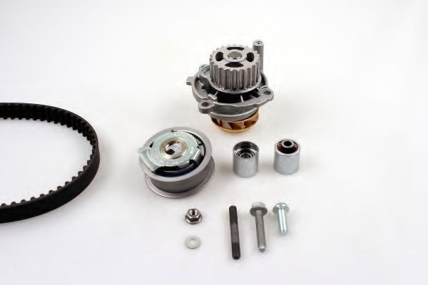 Set pompa apa + curea dintata AUDI A4 Avant (8E5, B6) (2001 - 2004) HEPU PK05451
