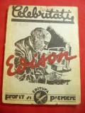 Ctin.Vicol- Edison - Colectia Celebritati nr.1 ,Ed. Profit si Pierdere 1932