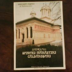 Gherasim Cristea al Ramnicului  Istoricul sfintei manastiri Caldarusani