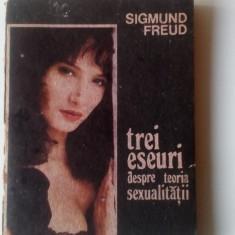 Sigmund Freud - Trei eseuri despre teoria sexualitatii    (4+1)