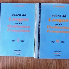 COURS DE LANGUE ET DE CIVILISATION FRANCAISES- MAUGER, VOL II SI III