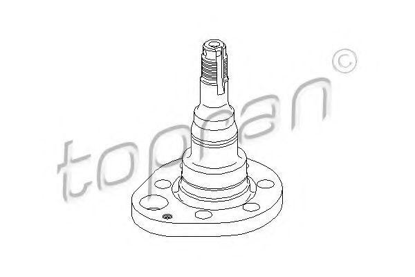 Butuc roata VW VENTO (1H2) (1991 - 1998) TOPRAN 102 821
