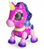 Jucarie interactiva Zoomer Zupps Unicorn cu lumini si sunete - Stardust
