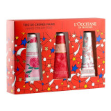 L'Occitane Hand Cream Rose Set 3 Piezas 2018