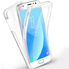 Husa Protectie 360° Fully PC & Glass (TPU + Plastic) Samsung Galaxy J5 2017