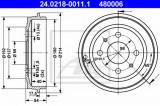 Tambur frana FORD KA (RU8) (2008 - 2016) ATE 24.0218-0011.1