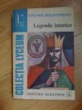 d3 Legende istorice - Dimitrie Bolintineanu