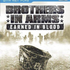 Brothers in arms - Earned in blood  - PS2 [Second hand], Shooting, 12+, Multiplayer