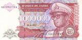 Bancnota Zair 1.000.000 Zaires 1993 - P45b UNC