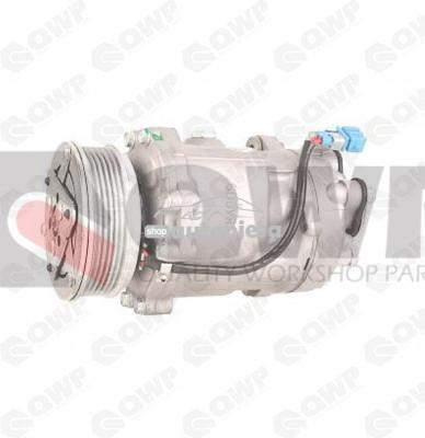 Compresor clima / aer conditionat VW LUPO (6X1, 6E1) (1998 - 2005) QWP WCP168R foto