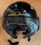 Vand casca moto open face - model Fisrt Bike culoare negru, marime S