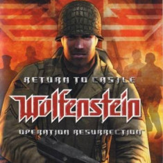 Return to castle - Wolfenstein - Operation Ressurection - PS2 [Second hand], Shooting, 12+, Multiplayer