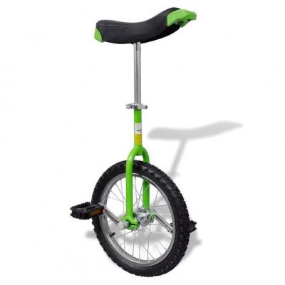 Monociclu verde reglabil 16 inci foto