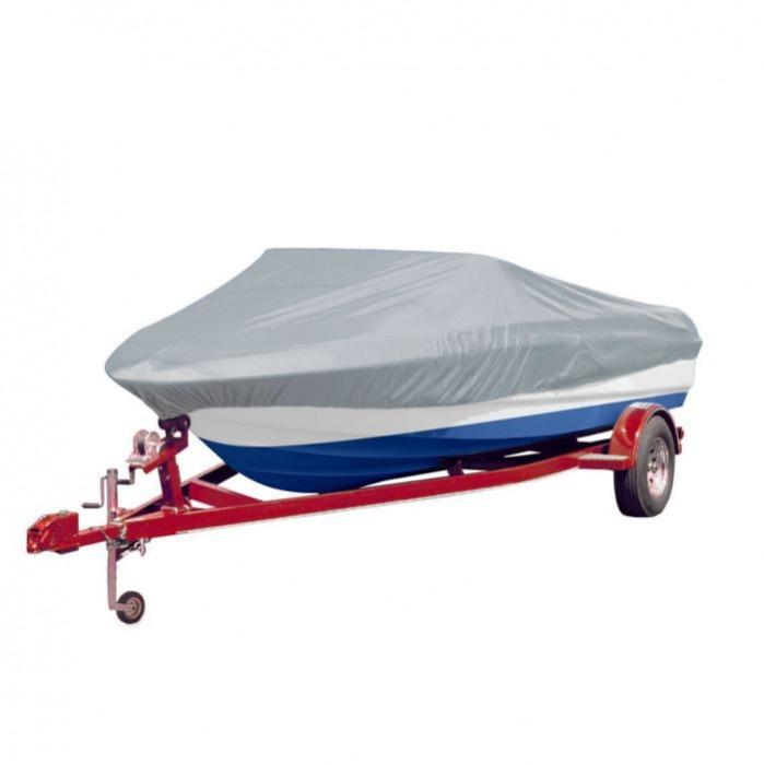 Prelată barcă gri Lungimea 610-671 cm Lățimea 254 cm