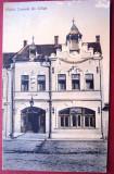 Carte   postala  Hotel  Comunal  Salistea Sibiului   1920