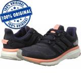 Pantofi sport Adidas Energy Boost 3 pentru femei - adidasi originali, 36 2/3, 37 1/3, 38 2/3, 40 2/3, 41 1/3, Negru, Textil